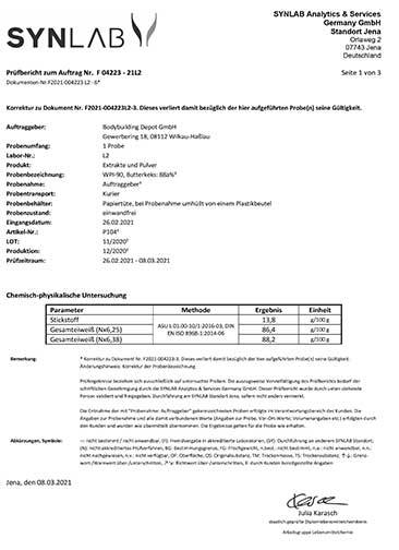 Laboranalyse 1
