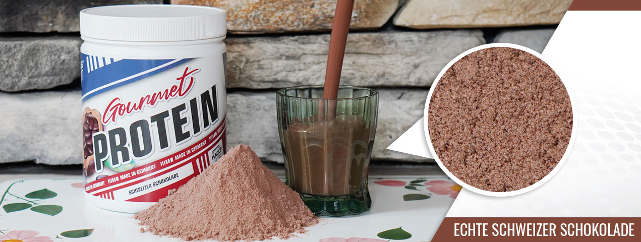 Gourmet Protein Schweizer Schokolade