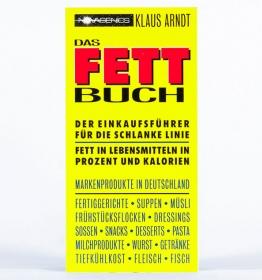 Buch - Das Fettbuch