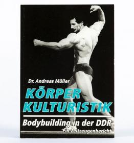 Buch - Körperkulturistik - Bodybuilding in der DDR