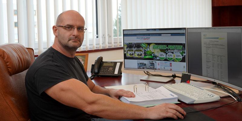 Andre Voigt, Geschäftsführer und Produktentwickler