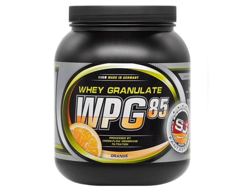 Bild zeigt wpg 85 Protein Dose
