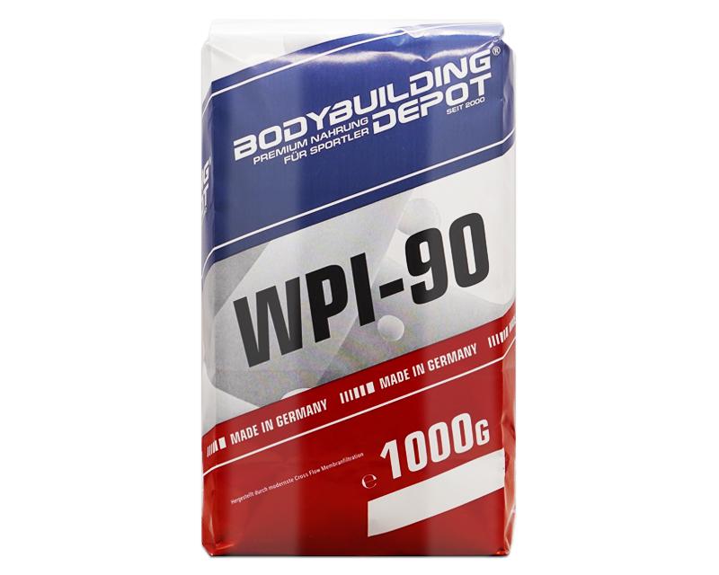 WPI-90 Whey Isolat Papiertüte